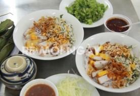 Combo 1 tô bún heo quay + 1 tô bún heo luộc + 2 ly nước ngọt + 2 khăn tại Hương Nhi Quán