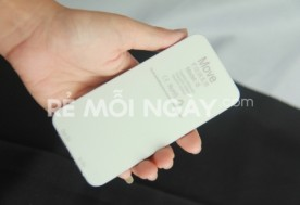 Dụng cụ tích trữ điện 5000 MAH kiểu dáng Iphone 5