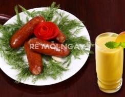 Combo 3 gói xúc xích xông khói với thương hiệu Xúc xích King (200g/ gói)