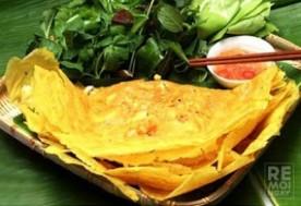 Set ăn (1 bánh xèo truyền thống Mười Xiềm, 1 súp nha đam, 1 chè) dành cho 1 người tại Bánh xèo Mười Xiềm