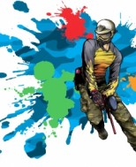 Re Moi Ngay - Ban sung son PAINTBALL