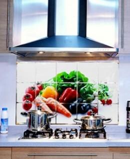 Combo 3 miếng dán nhiệt trang trí nhà bếp