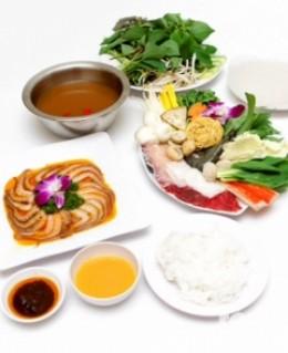 Set ăn 1 lẩu+ 1 món nướng Yumei dành cho 2 người