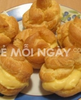 Bánh su kem Nam Phương