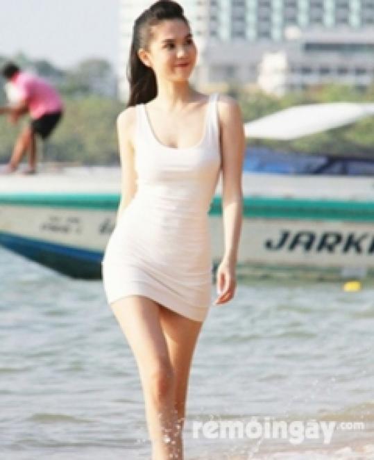Đầm tanktop trắng