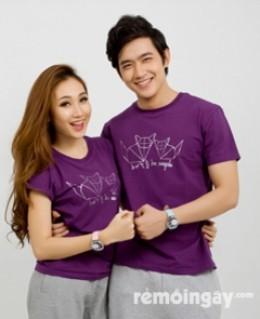 Combo 2 áo thun đôi couple ( nam và nữ )
