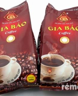 1kg cà phê Gia Bảo tặng kèm 1 ly thủy tinh