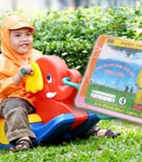 Bộ áo mưa dành cho trẻ em