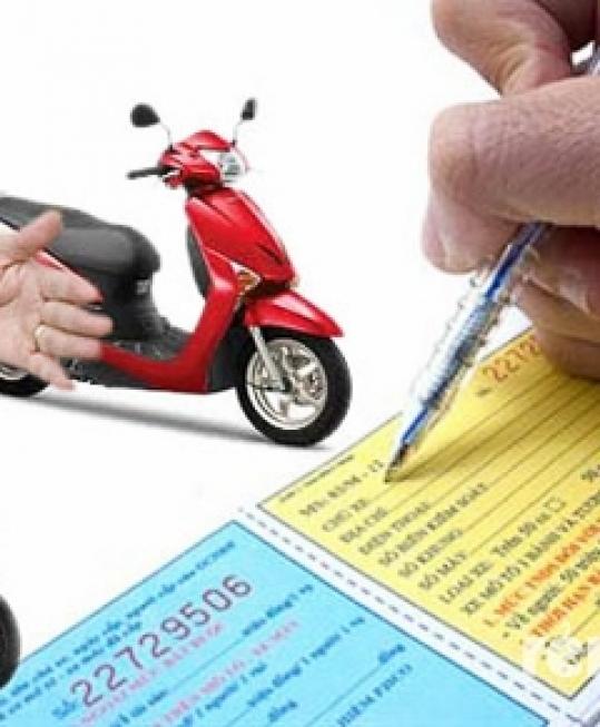 Bảo hiểm xe máy dân sự bất buộc giá trị 2 năm quân đội