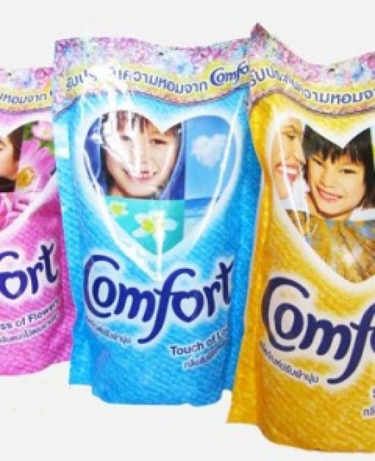 Combo 2 bịch nước xả vải comfort Thái Lan 650 ml