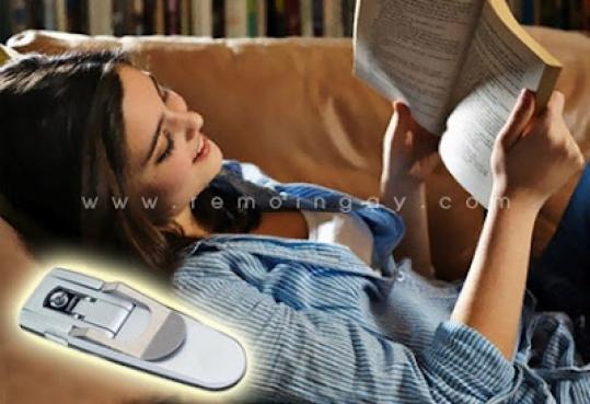 Đèn kẹp đọc sách mini
