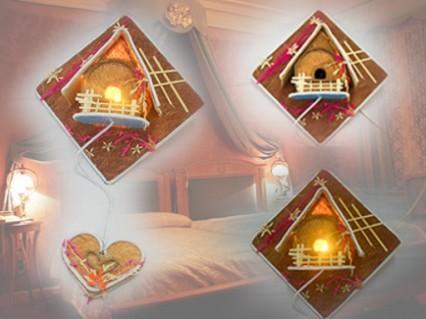 Đèn ngủ handmade cổ điển