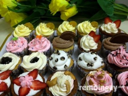 Bánh cupcake tại DONUT GREEN ISLAND