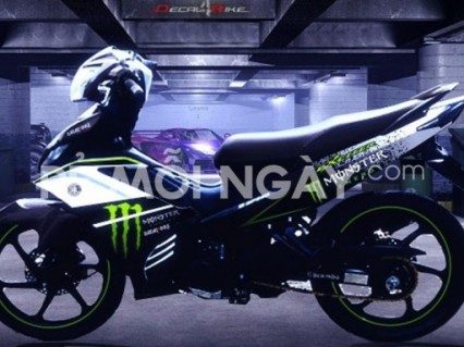 Combo 3 miếng dán Monster Energy