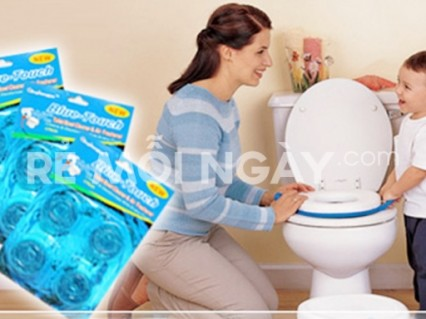 Combo 4 viên tẩy toilet