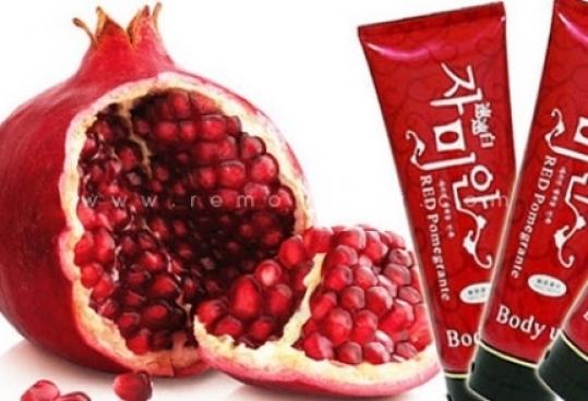 Kem tắm dưỡng da Red pomegrante whitening - redeal