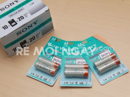 Pin sạc Sony AA Cycle Energy - redeal