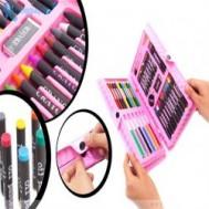 Hộp bút chì màu 42 món chỉ 55.000 vnđ quà tặng độc đáo giúp bé yêu làm quen với thế giới sắc màu