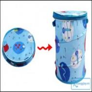 Giỏ đựng đồ chơi cho bé hoặc vật dụng gia đình ( loại lớn ) - Tiết kiệm không gian, dễ dàng xếp gọn với giá chỉ 85.000 vnđ cho giá trị sử dụng 170.000 vnđ