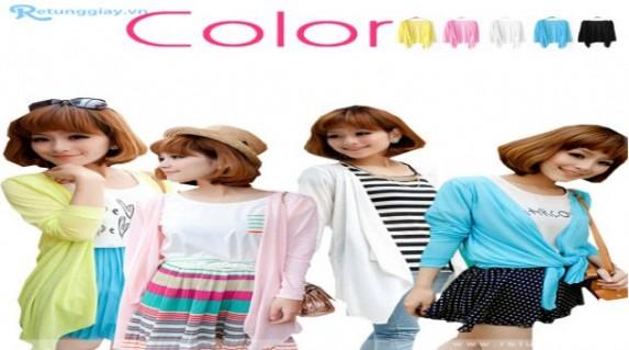 Áo khoác thun vạt dài phong cách Hàn Quốc chỉ 70.000 vnđ kiểu dáng độc đáo, nhiều màu sắc trẻ trung. Giá cực rẻ chỉ có tại Retunggiay.vn!