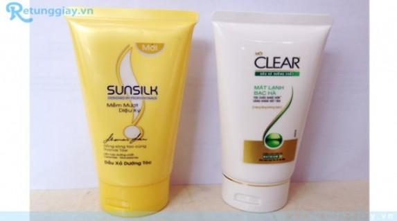 Dầu xả dưỡng tóc chính hãng Unilever giá chỉ 9.000 vnđ .Giúp tóc bạn mềm mượt óng ả mỗi ngày ( chi.Cực rẻ chỉ có tại retunggiay.vn ! - 1 - Gia Dụng - Gia Dụng