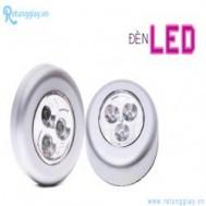 Combo 02 đèn Led 3 bóng dán tường - Nhỏ gọn, sử dụng tiện lợi, công dụng thông minh giá chỉ 44.000 vnđ cho giá trị sử dụng 100.000 vnđ