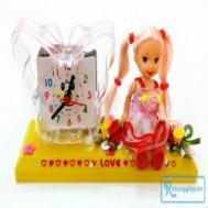Búp bê đồng hồ hoặc búp bê ngồi vườn hoa dễ thương - Món quà dễ thương dành cho ngày phụ nữ 20/10 với giá chỉ 55.000 vnđ cho giá trị sử dụng 92.000 vnđ