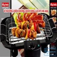 Bếp nướng điện không khói King Lucky HB-888 giúp cho bữa tiệc đồ nướng tại nhà của gia đình bạn trở nên dễ dàng và tiện lợi với giá chỉ 340.000 vnđ cho giá trị sử dụng 700.000 vnđ