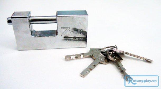 Khóa cầu ngang chịu lực Zyeti siêu bền chống cắt, cưa với giá chỉ 65.000 vnđ cho giá trị sử dụng 115.000 vnđ. Giá cực rẻ chỉ có tại Retunggiay.vn!