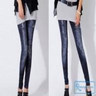 Quần legging dài giả jean đầy cá tính, kiểu dáng hiện đại với giá chỉ 74.000 vnđ cho giá trị sử dụng 140.000 vnđ