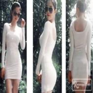 Đầm body tay dài Ngọc Trinh thiết kế đơn giản, tinh tế với giá chỉ 105.000 vnđ cho giá trị sử dụng 200.000 vnđ