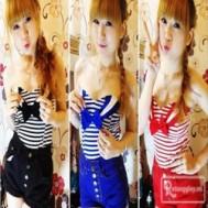 Áo ống thủy thủ mang phong cách hiện đại, sành điệu cho bạn gái với giá chỉ 89.000vnđ cho giá trị sử dụng 170.000vnđ