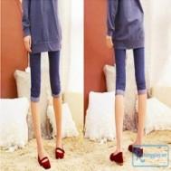 Quần tregging lửng giả jeans gúp bạn gái luôn trẻ trung, năng động với giá chỉ 65.000 vnđ cho giá trị sử dụng 110.000 vnđ