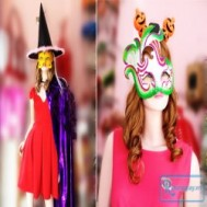 Phụ kiện hóa trang vui hội Halloween dễ thương nhưng không kém phần rùng rợn tại shop Sandy kute giá chỉ 40.000 vnđ cho giá trị sử dụng 80.000 vnđ