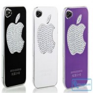 """Ốp lưng đèn cảm ứng cho iPhone 4/4S bảo vệ và giúp """"dế yêu"""" thêm sang trọng, nổi bật với giá chỉ 97.000 vnđ cho giá trị sử dụng 220.000 vnđ"""