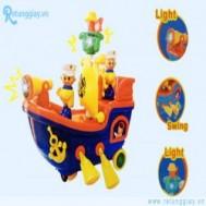 Đồ chơi thuyền dùng pin với giá chỉ 85.000 vnđ giúp kích thích trí tưởng tượng và khả năng sáng tạo của bé