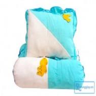 Bộ gối ôm và gối nằm cho bé yêu với chất liệu cotton 100%,bong mềm dày nâng niu giấc ngủ thoải mái với giá chỉ 79.000vnđ cho giá trị sử dụng 150.000 vnđ,cực rẻ chỉ có tại Retunggiay.vn ! - Nội Thất