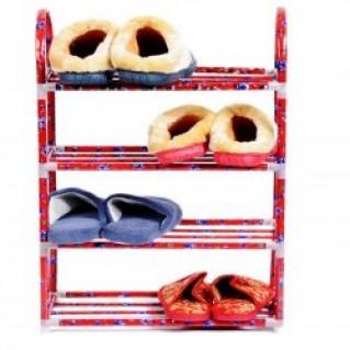 Kệ để đồ (giày dép ) đa năng 4 tầng HOA VĂN Nhôm chỉ 95.000 vnđ không rỉ chất liệu bền, đẹp giúp bạn sắp xếp, bảo quản giày dép đồ đạc một cách khoa học, cho nhà cửa luôn ngăn nắp, sạch sẽ Cực rẻ tại Rẻ Từng Giây. - Gia Dụng