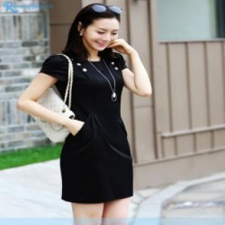 Đầm công sở Hàn Quốc may vải tuyết mưa CAO CẤP chỉ 140.000 vnđ .Với mẫu thời trang cao cấp mang phong cách lịch lãm .Giá cực rẻ chỉ có tại Retunggiay.Vn !