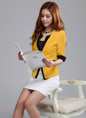 Rẻ Từng Giây - Ao vest cong so Han Quoc tay lat gia re chi co 159.000d