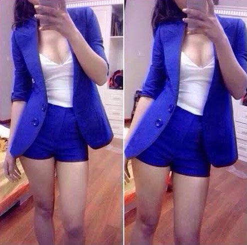 Áo khoác vest kèm quần giá rẻ chỉ có 195.000 vnđ