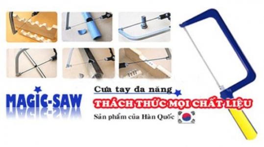 Cưa tay đa năng HA500 Magic Saw – chất liệu Carbon giúp bạn không còn gặp phải khó khăn khi dọn dẹp nhà cửa, tiện lợi mà giá cả lại hợp lý chỉ 95.000 vnđ .Chỉ có tại RETUNGGIAY.VN