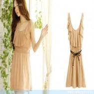 Đầm cổ kiểu Thái 02 lá chỉ 125.000 vnđ vẻ đẹp dịu dàng, sống động giữa trời thu