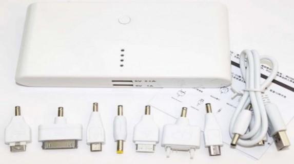 Pin Sạc Dự Phòng cho IPAD,IPHONE,và hầu hết các dòng điện thoại giá chỉ 550.000 vnđ với Dung Lượng 20.000mAh Đa Năng POWER BANK 2013 .Giá cực rẻ chỉ có tại Retunggiay.Vn !
