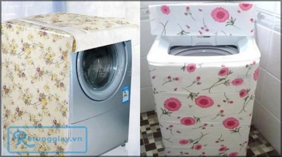 Bảo vệ máy giặt khỏi bụi bẩn, nước giúp máy luôn mới và sạch sẽ với áo bảo vệ máy giặt - chất liệu vải nilon PEVA chỉ 48.000vnđ cho giá trị sử dụng 120.000vnđ. Sản phẩm chỉ có tại Retunggiay.vn!