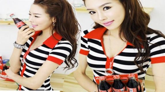 Đầm cổ áo chữ V sọc ngang cá tính chỉ 99.000 vnđ .giúp phái nữ tôn lên vẻ đẹp hiện đại.Giá cực rẻ tại Retunggiay.vn !