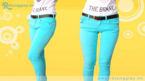 Quần Jean nữ Apple dáng dài mang đến vẻ năng động rất thời trang với giá chỉ 152.000 vnđ cho giá trị sử dụng 315.000 vnđ. Giá cực rẻ chỉ có tại Retunggiay.vn! - 1 - Thời Trang và Phụ Kiện - Thời Trang và Phụ Kiện