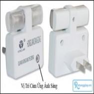 Combo 02 đèn ngủ cảm ứng ánh sáng - Siêu tiết kiệm điện, ánh sáng nhẹ dịu cho bạn giấc ngủ êm ái với giá chỉ 39.000 vnđ cho giá trị sử dụng 118.000 vnđ