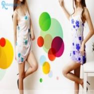 Đầm ngủ có áo khoác hoa văn bông xinh xắn chỉ 94.000 vnđ giúp bạn gái thêm gợi cảm, quyến rũ - 3 - Thời Trang và Phụ Kiện - Thời Trang và Phụ Kiện