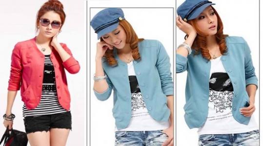 Áo khoác Cardigan Hàn Quốc cho nữ New 2013 giá rẻ chỉ 105.000 vnđ.Phong cách thời trang mới cho bạn nữ .Retunggiay.Vn !